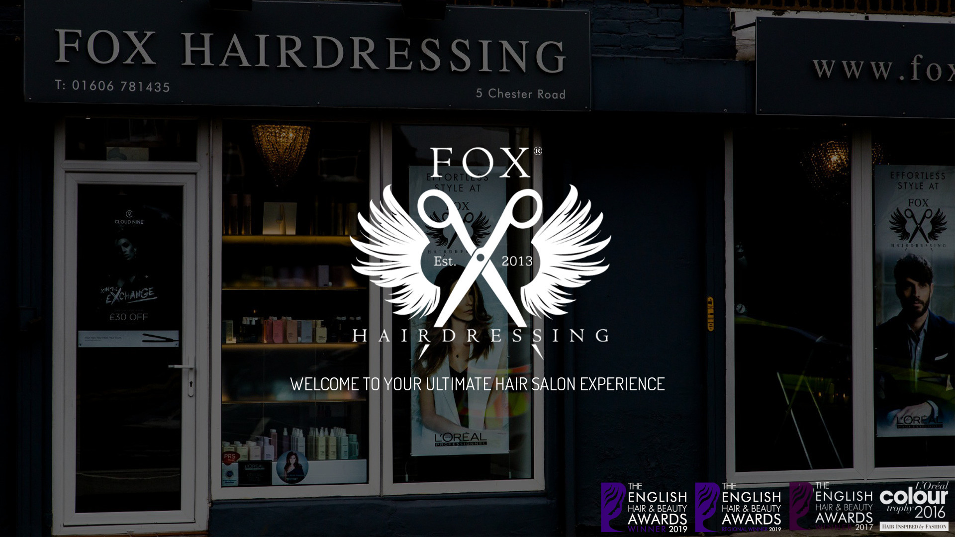 Fox Hairdressing - Entrance